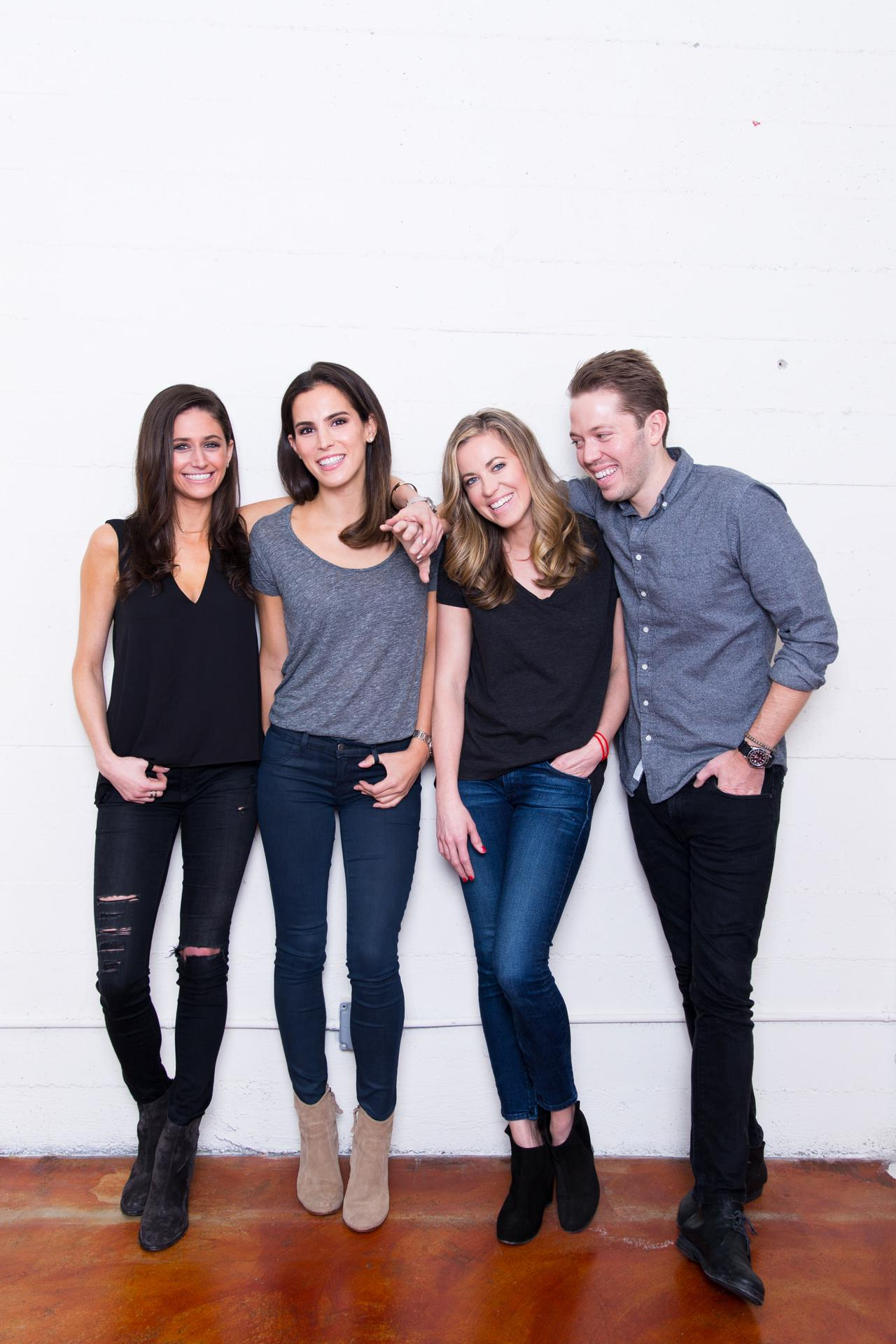 Co-founders of Little Spoon, Lisa Barnett, Michelle Muller, Angela Vranich, Ben Lewis