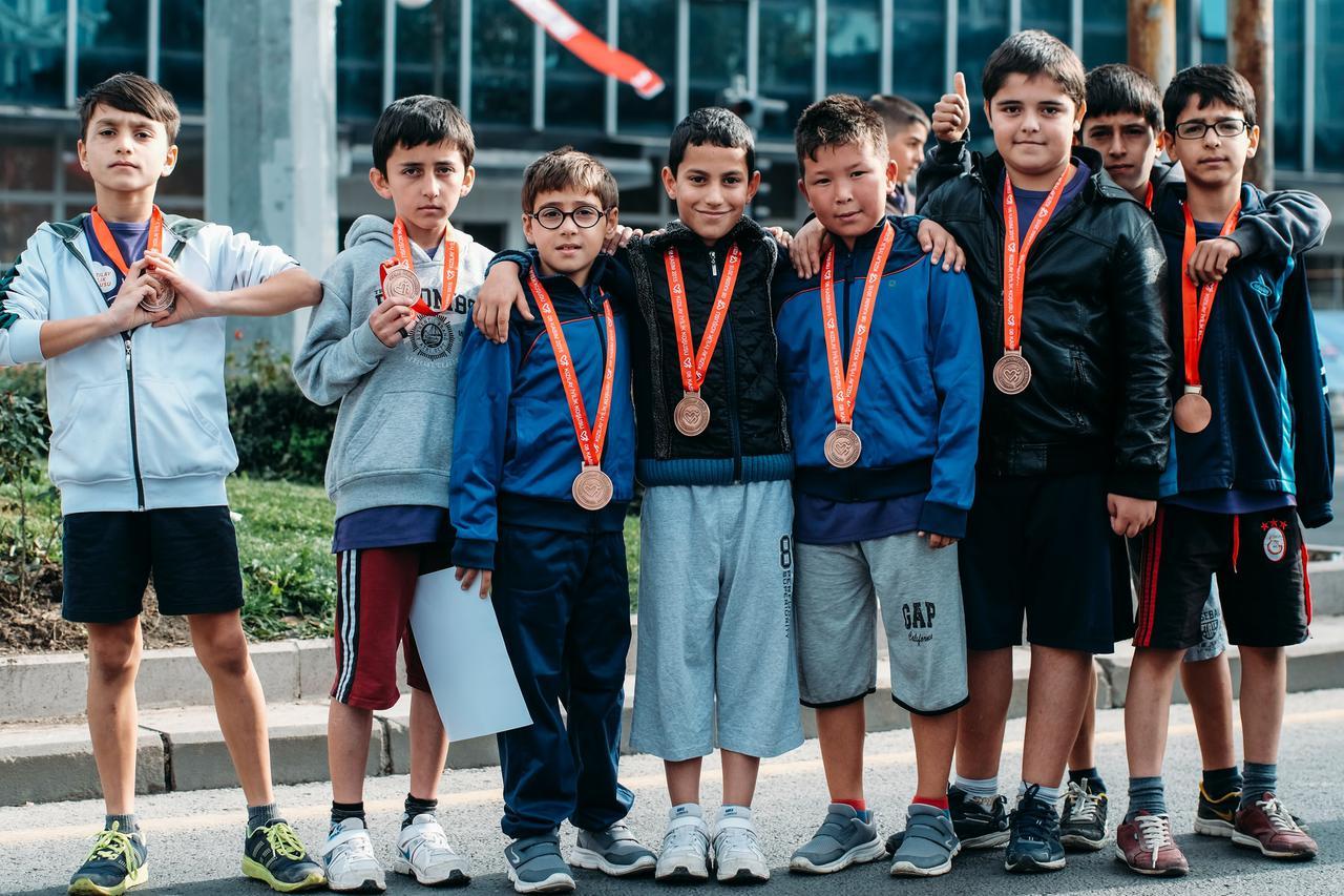 Kids run organised by Sporlab in Ankara/Turkey, 2015