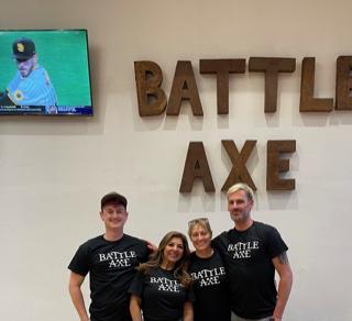 The battle axe team.