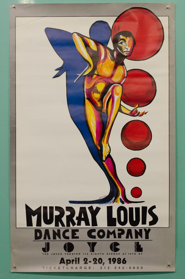 Murray Louis Dance company poster