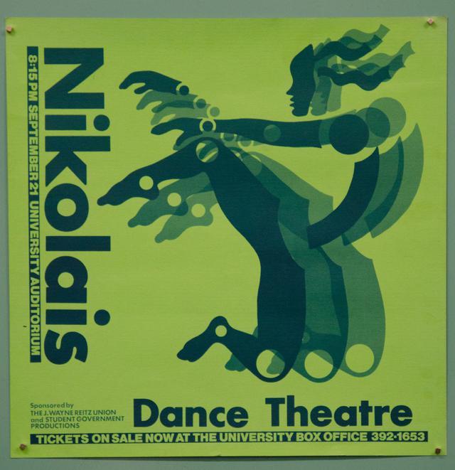 Nikolais dance theatre poster