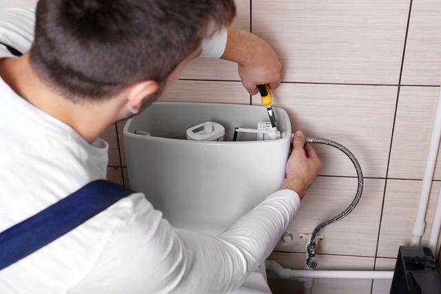 leaking toilet fix in austin texas