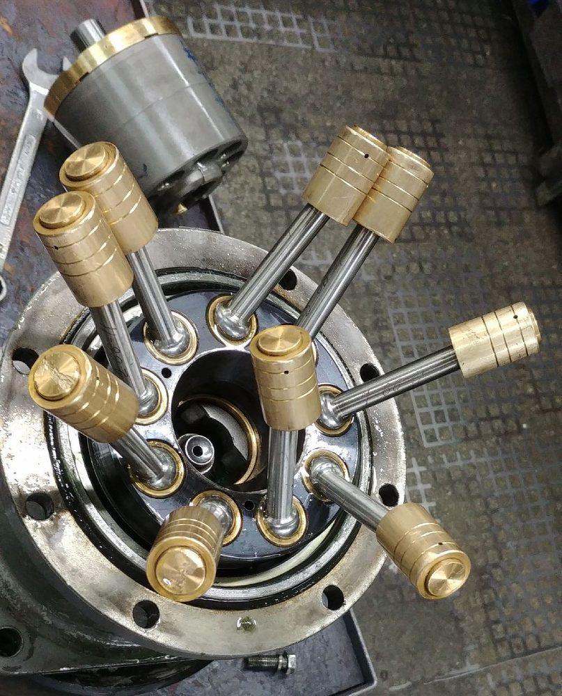 regeneracja silnika hydraulicznego
