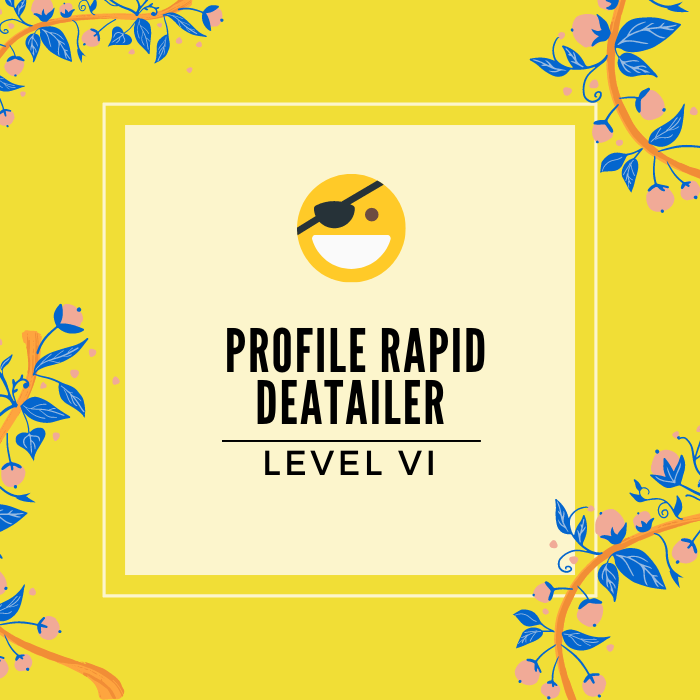 Profile Rapid Detailer - Service Badge - Click to learn more