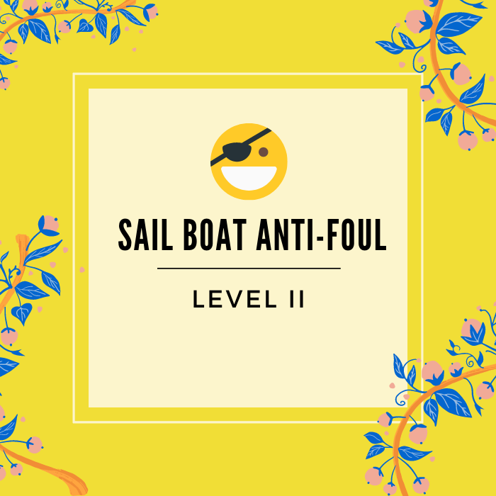 Sailboat Anti foul - Service badge - click to learn more -