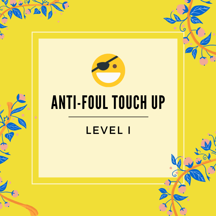 Antifoul touch up -service badge - click to learn more