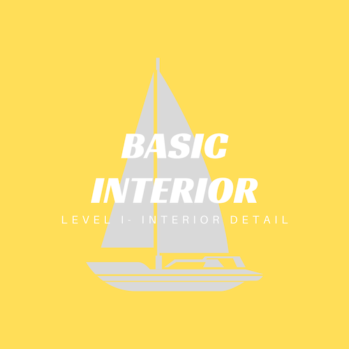 A basic interior detailed cleaning service cares for all exposed surfaces with a thorough wipe down