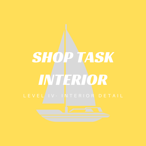This shop task detail goes deeper into your boat including the bilges and engine room.