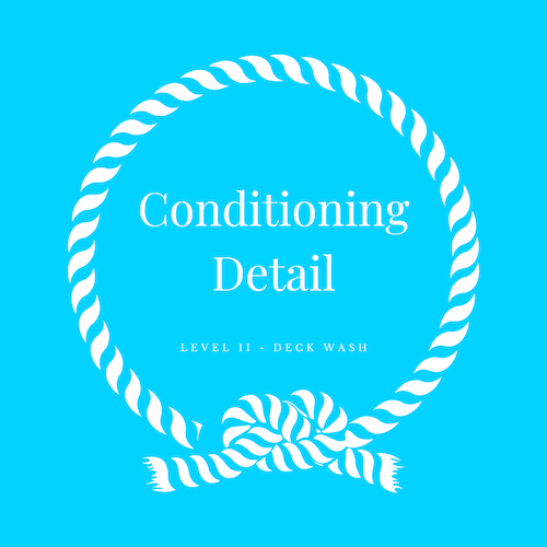 Conditioning detail includes a hand wash and dry
