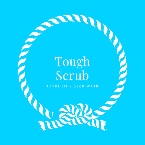 Our tough scrub is an inch by inch detailing to begin our relationship with your boat