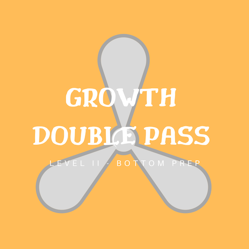 Some growth requires a Double pass with acid.
