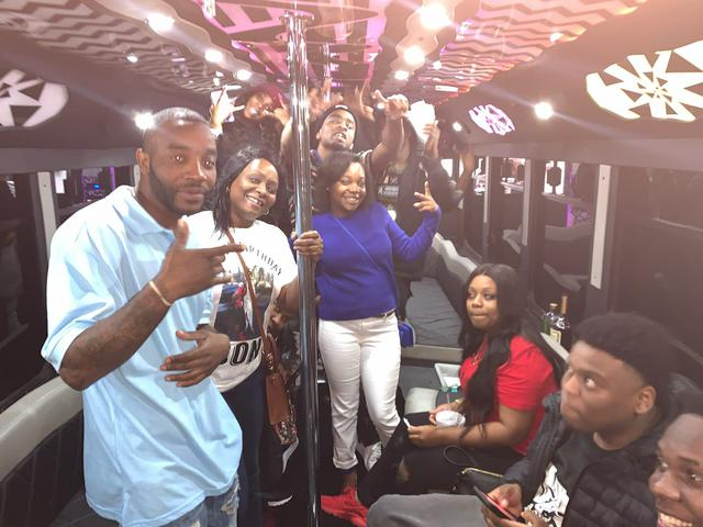 party bus rental in savannah, ga