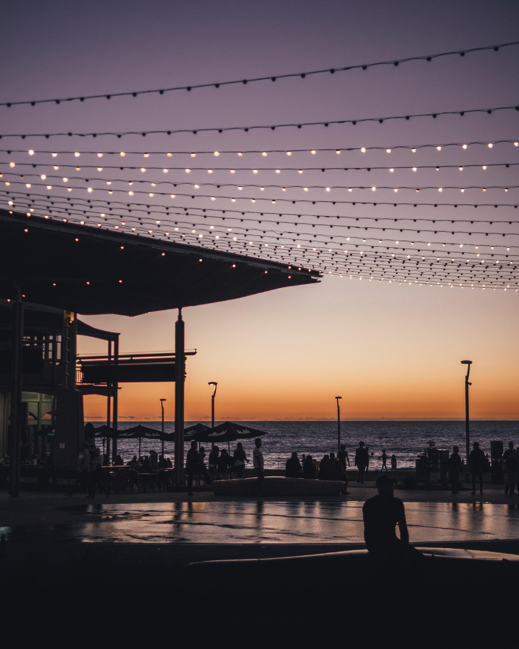 One of the most common places for me to shoot, Henley Square, South Australia. Capturing the locals enjoying a relaxing Sunday night for a classic Henley sunset.