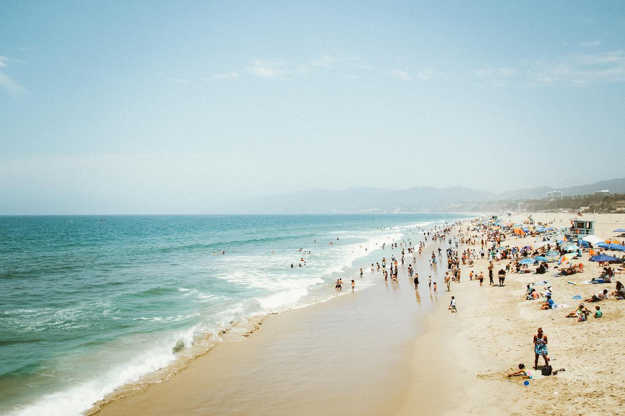 Vacation in Santa Monica