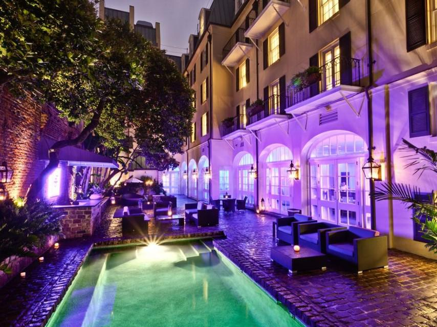 Boutique Courtyard with pool