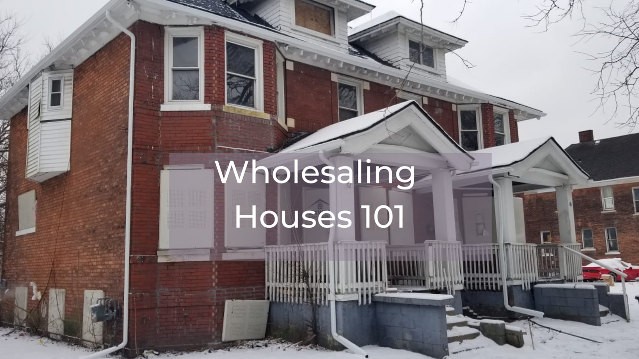 Wholesale real estate investing training in New York.