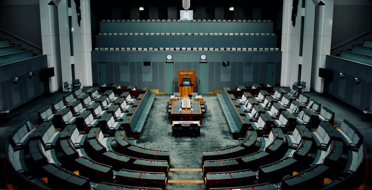 The Australian House of Representatives at the Australian Parliament