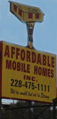 Affordable sign