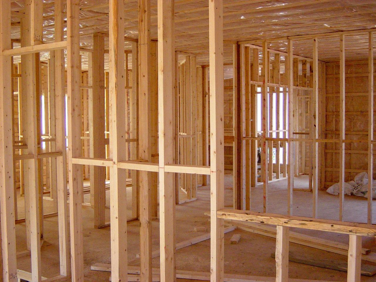 This is a photo of framework renovation and construction work.
