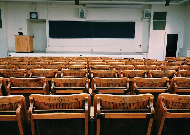 Ivy league classroom.
