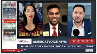 <strong>Interview with Sayd Hussain on America&#x27;s Voice Live</strong>
