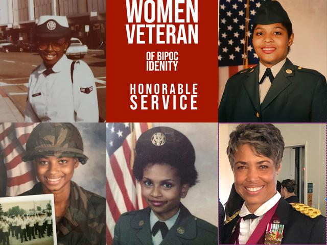 A veteran support system for women