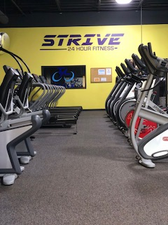 gym - Strive 24 Hour Fitness