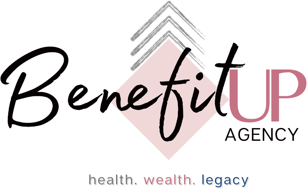Image of the BenefitUP Agency logo for health and life insurance.