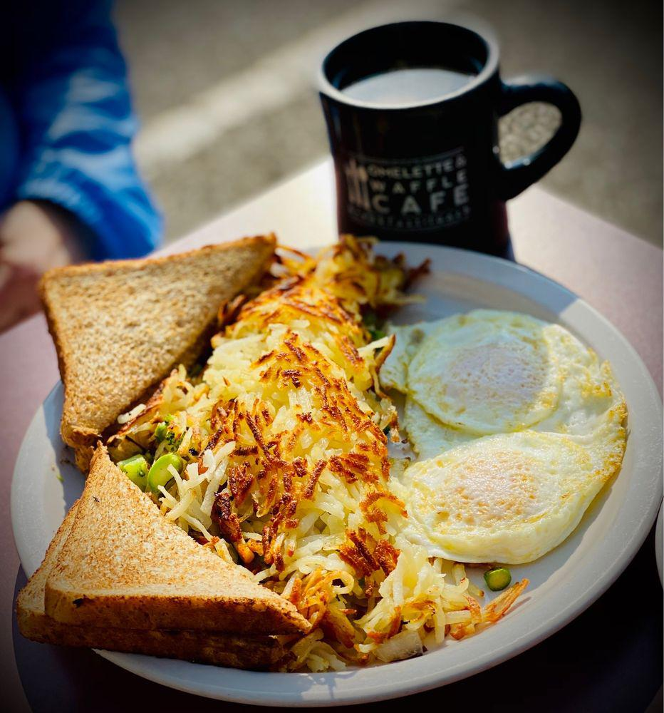 Enjoy breakfast and lunch all week long at brunch places near Plymouth, MI like Omelette & Waffle Cafe.