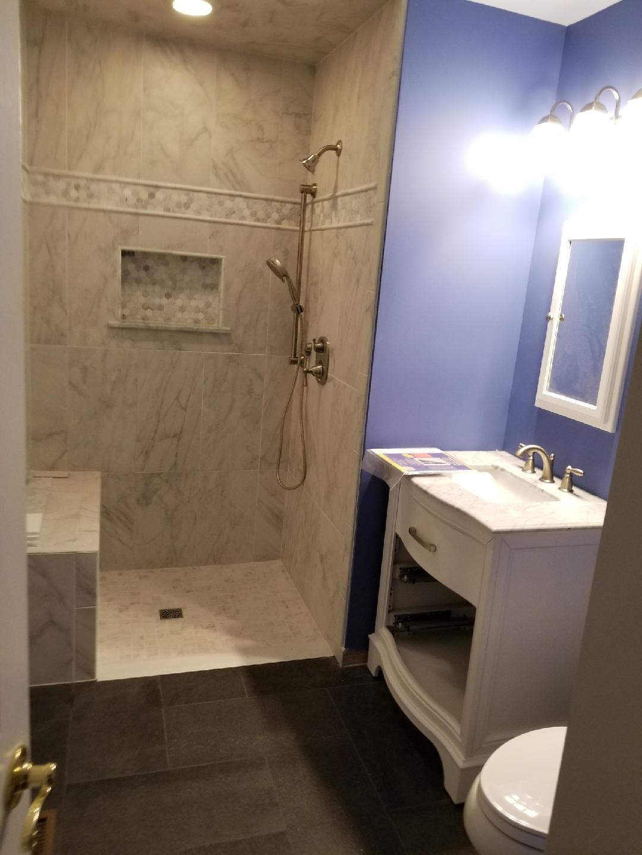 Shower, Sink, Toilet Rough In