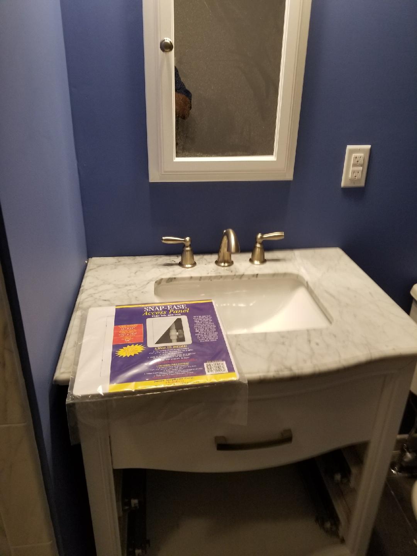 Pedestal Sink Rough In