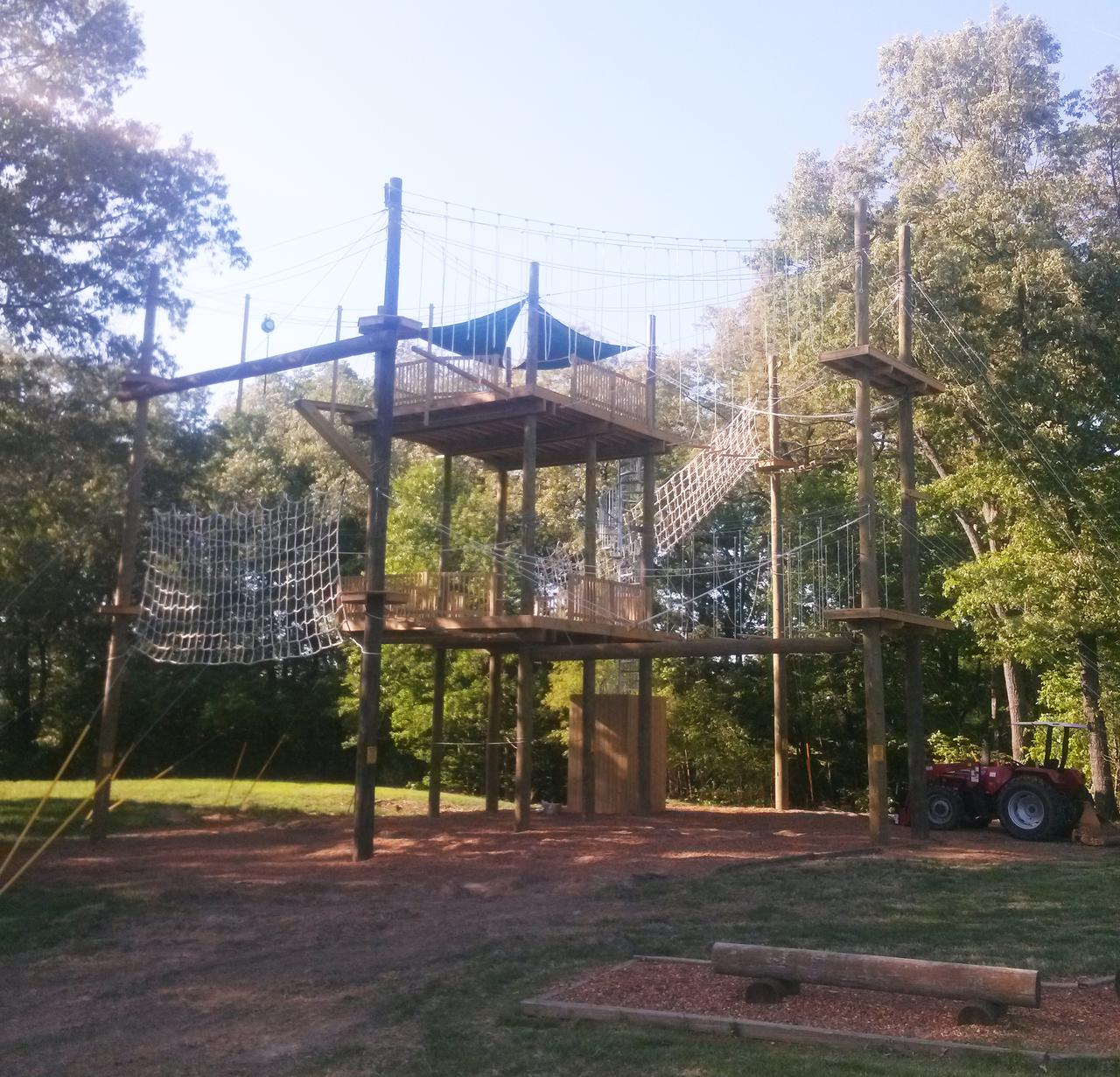 Camp Ropes Course with Spiral Stairs - Kentucky