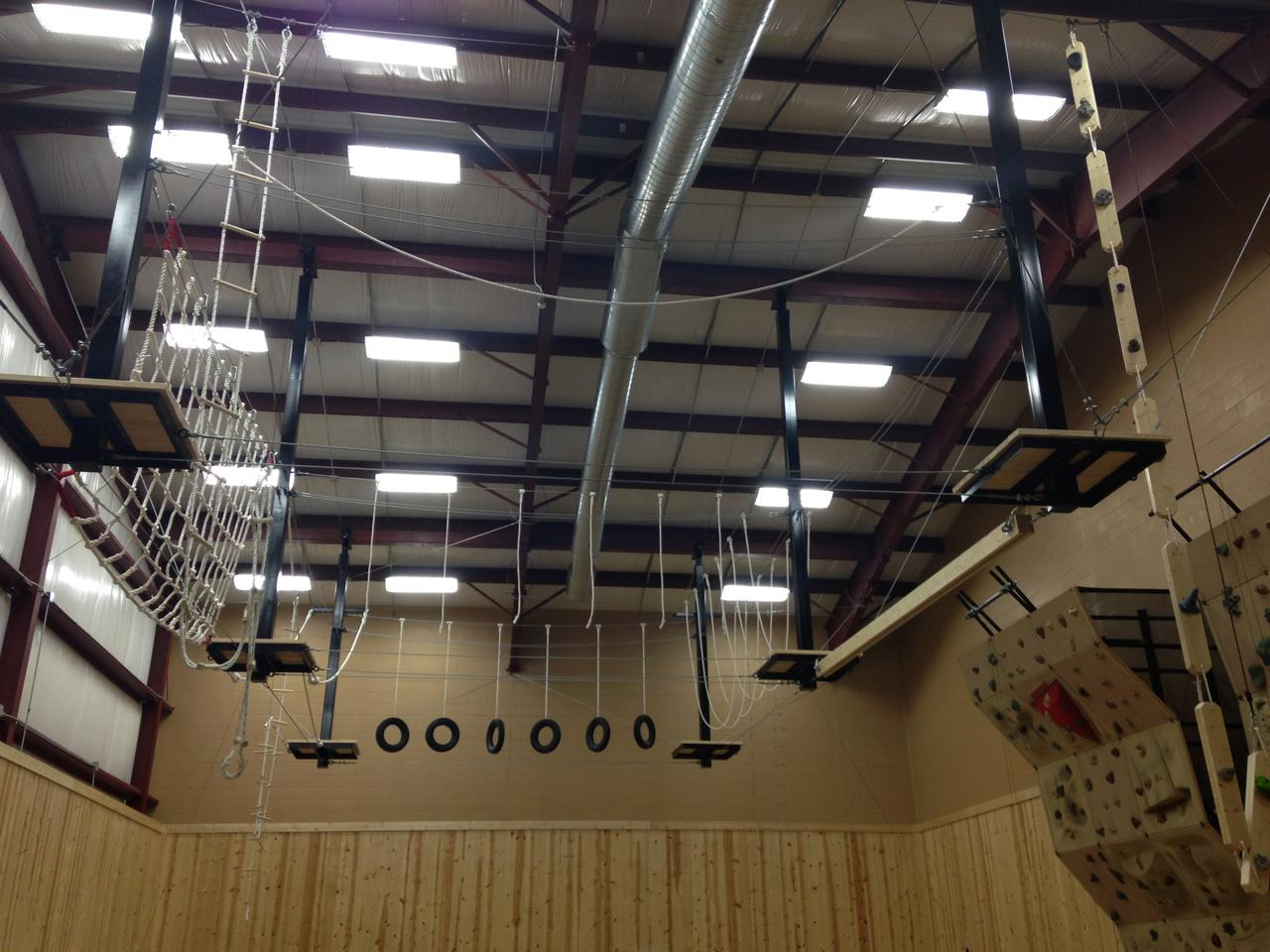 Indoor Ropes Course - Michigan