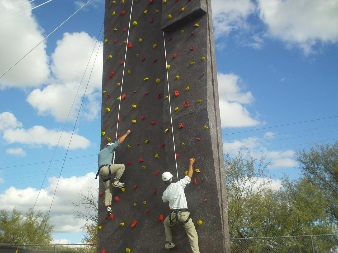 Arizona climbing wall texture