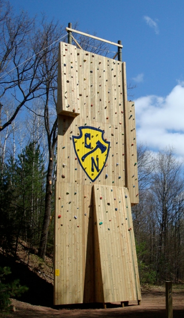Summer Camp Climbing Tower - Minnesota