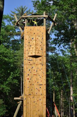 Agawak climbing tower