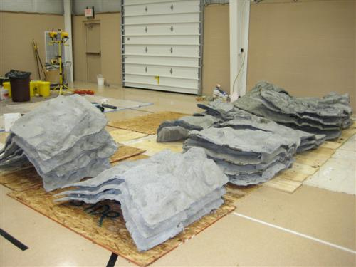 Natural Rock Panels - MI