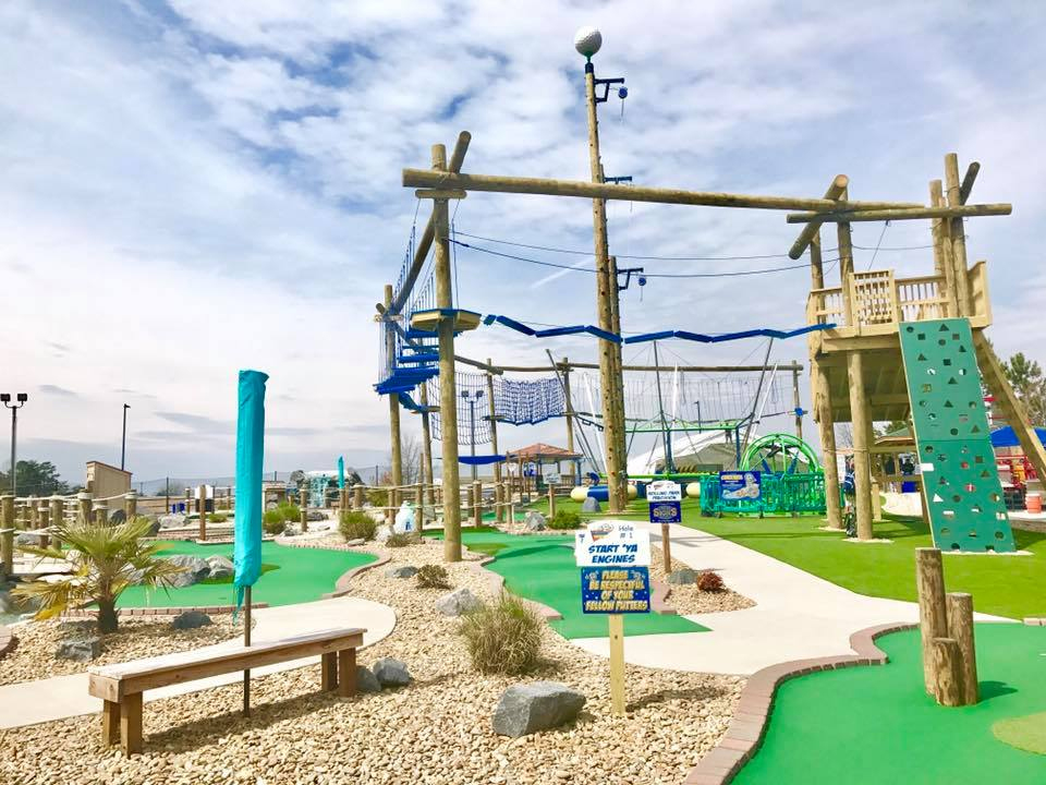 Ropes Course and Putt Putt