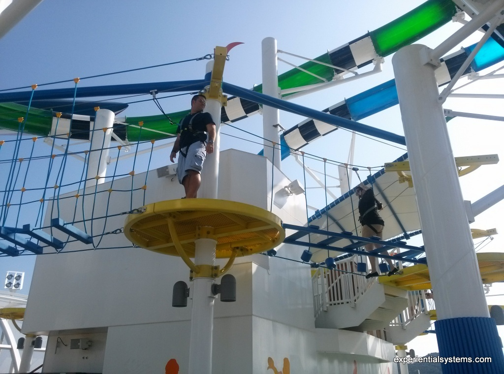 Cruise Ship Ropes Course