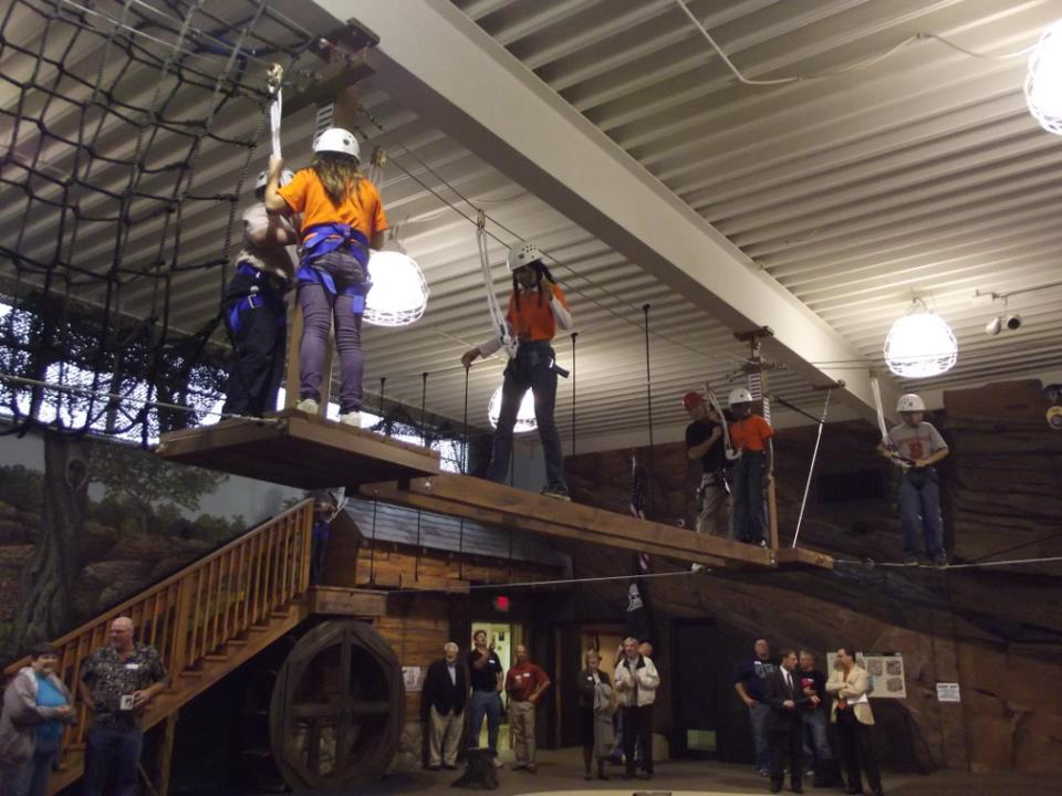 Indoor Ropes Course - Ohio