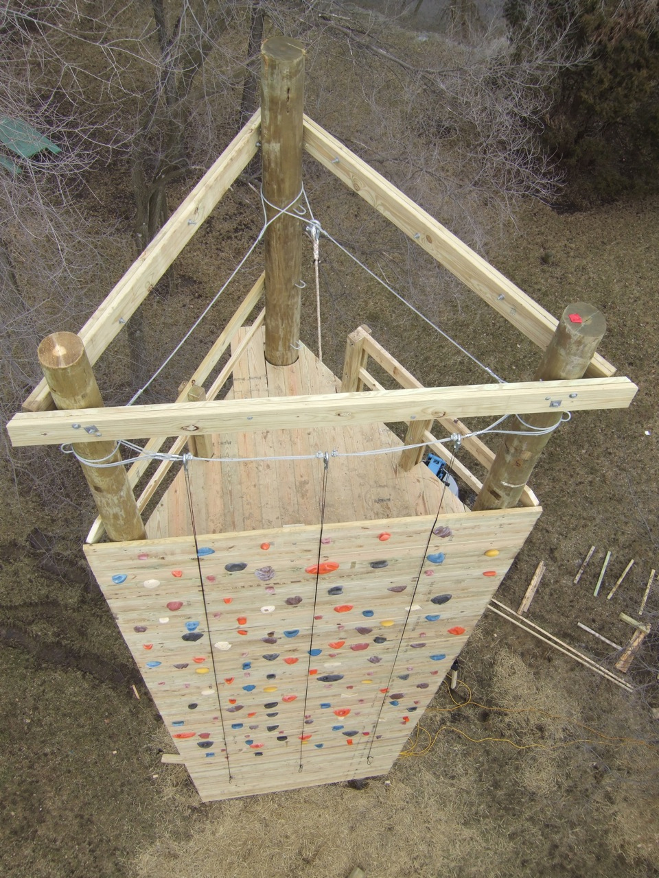 Climbing Tower Top Deck- Illinois