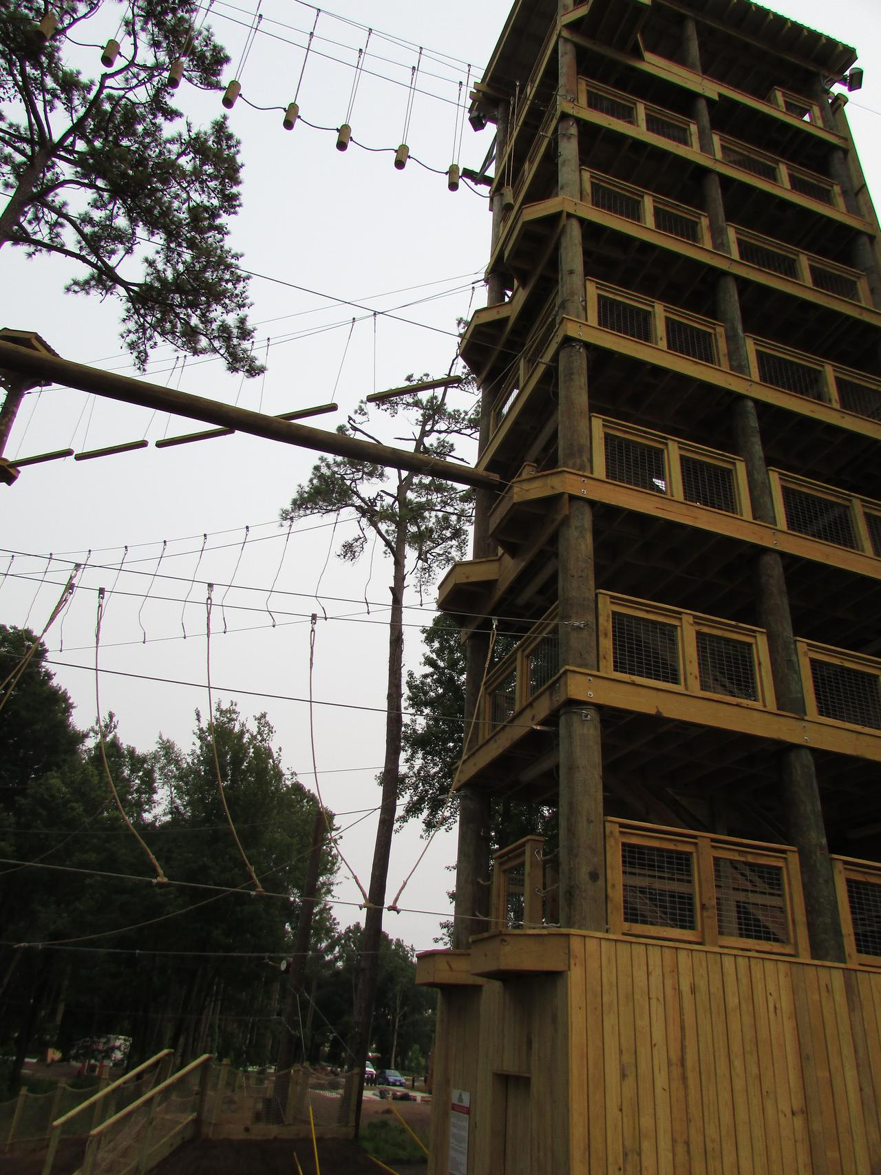 Aerial Park Access Tower
