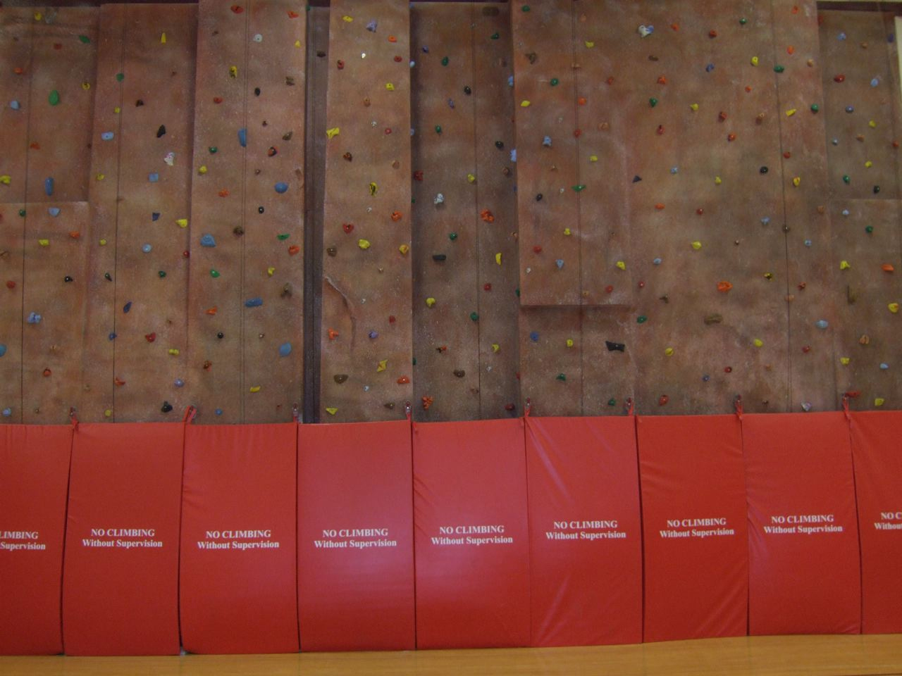 Seamless textured climbing wall - Madison, WI