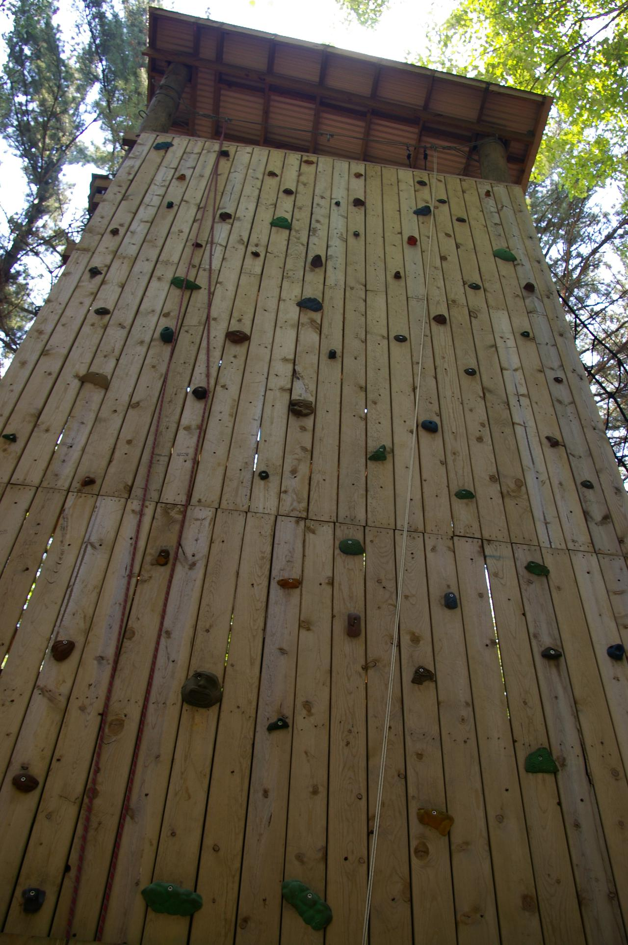 Climbing Tower, Green Lake, Wisconsin
