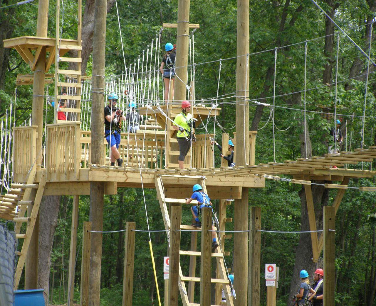 Adventure Park Center Deck