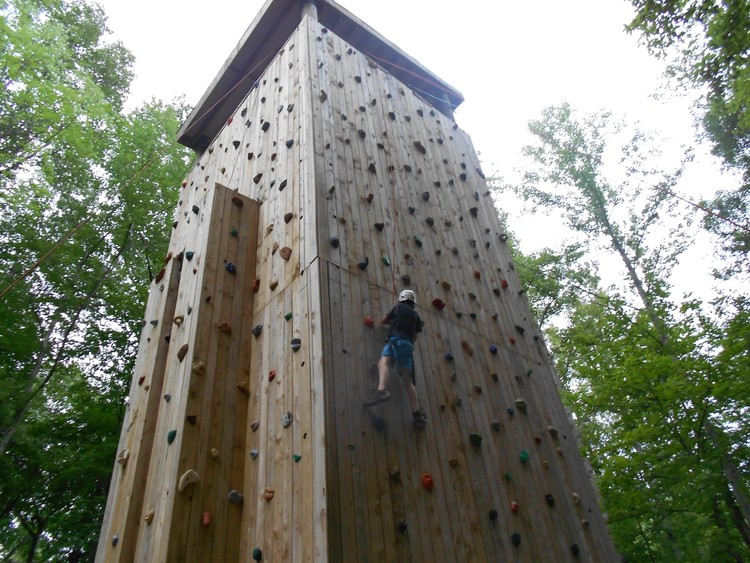 North Carolina - Climbing Tower, BSA