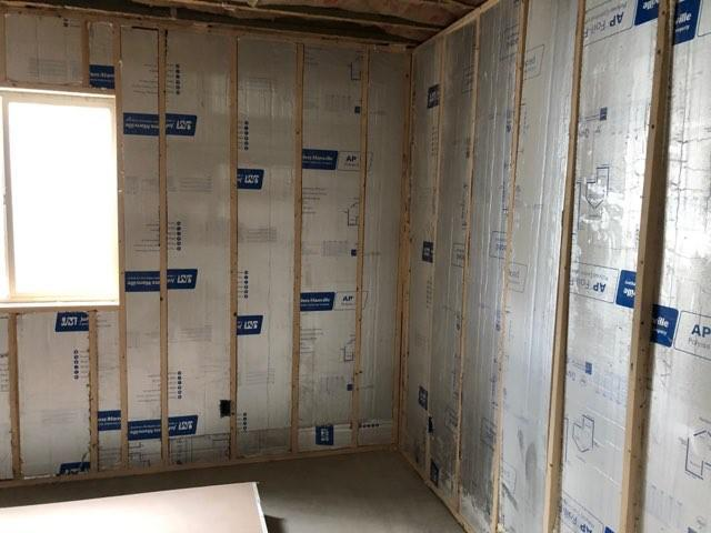 An image of wall insulation.