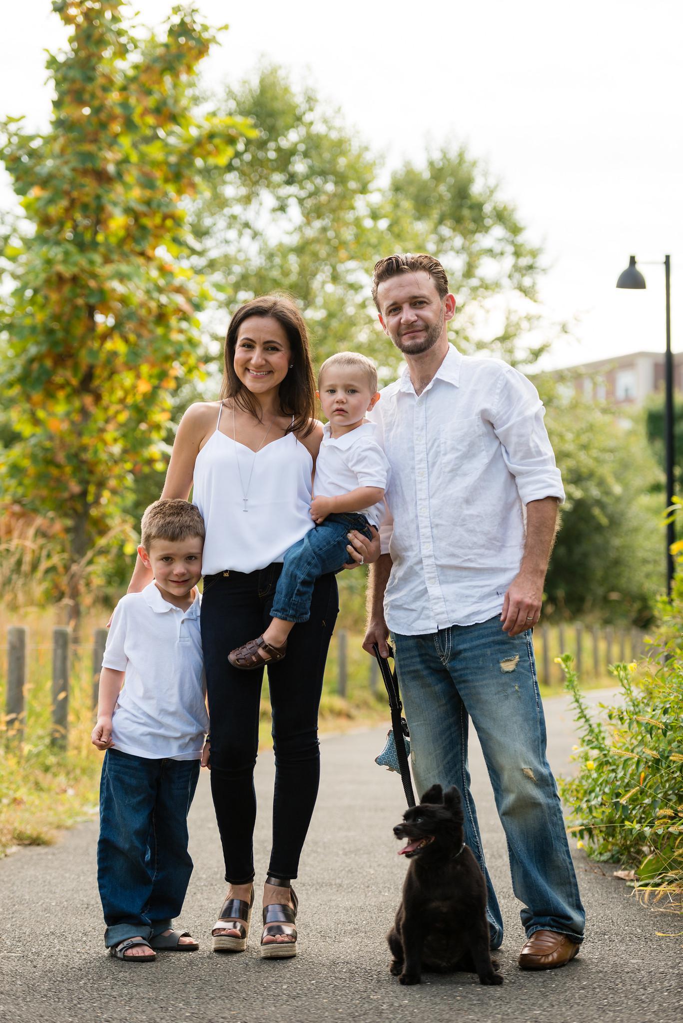 Inessa Makdulina-Nyzio, MS, RD, CDN and family