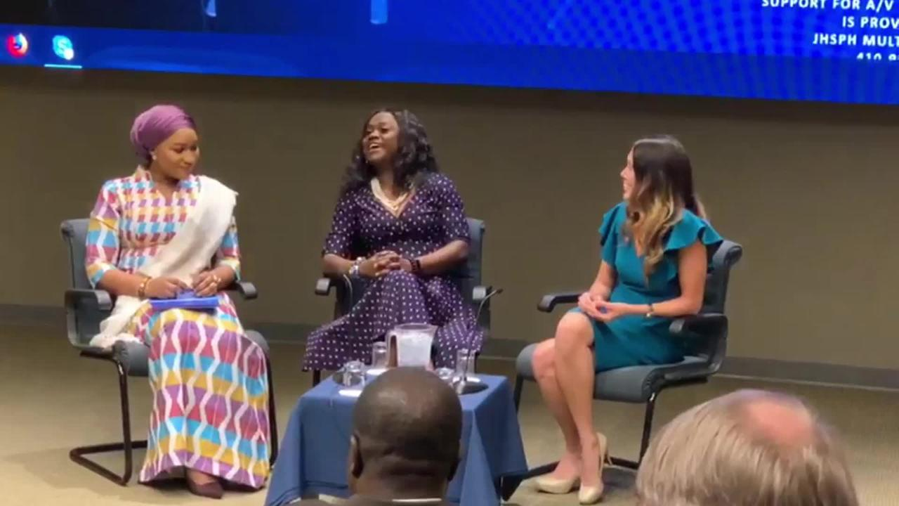 Panel Discussion at Johns Hopkins University on Gender Equality