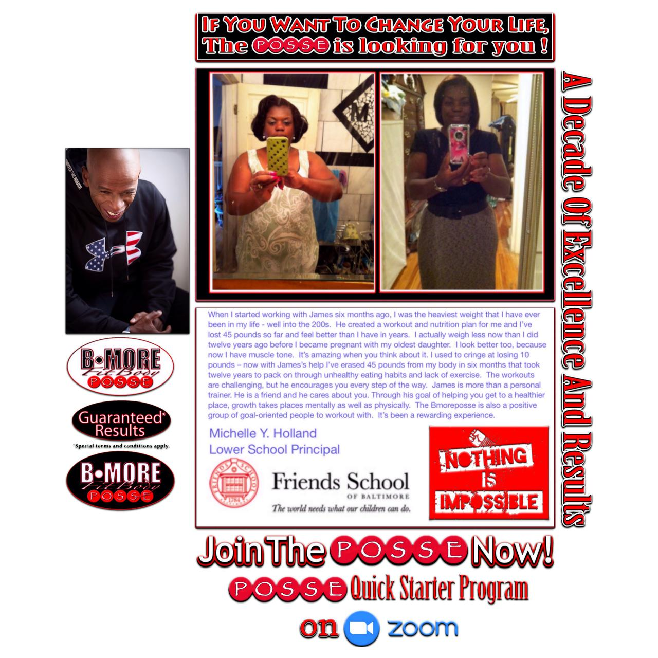 Personal trainer in Baltimore, MD.